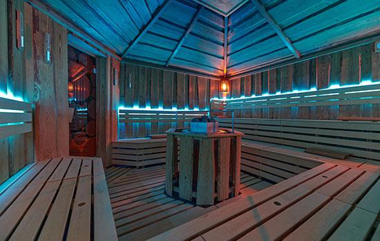 Aroma sauna ve wellness Orion Brno