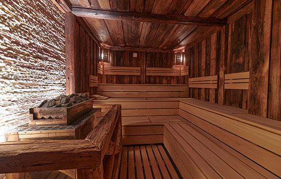 Finská sauna ve wellness Orion Brno