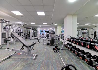 Posilovací zóna ve fitness