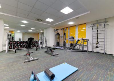 Volná zóna ve fitness