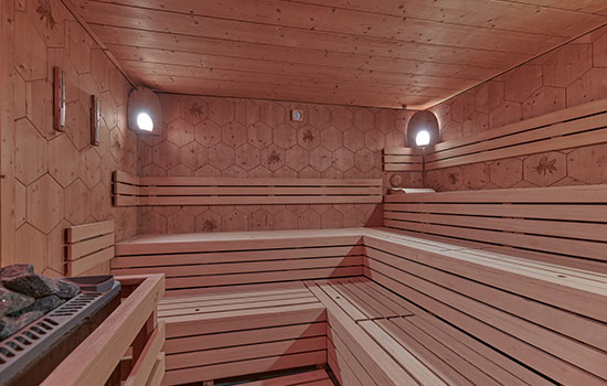 Medová sauna ve wellness Orion Brno