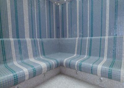 Parní sauna ve vodním světe