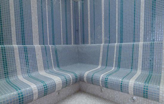 Parní sauna ve wellness Orion Brno
