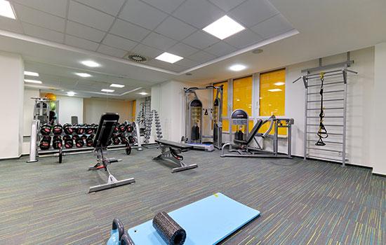 Volná zóna ve fitness Orion Brno Lesná